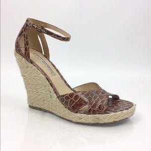 Via Spiga Shoes - Via Spiga Leather Espadrille Sandals 7.5