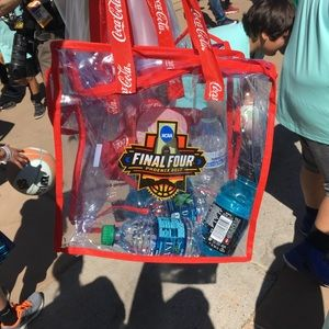 NCAA Handbags - NCAA 2017 final four phoenix clear bag/purse NEW