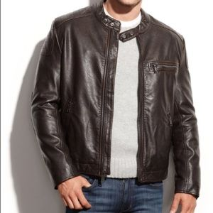 Marc Jacobs Other - Marc New York Distressed Faux Leather Moto Jacket