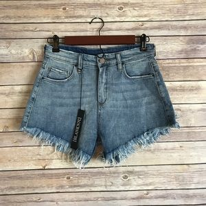 Blank NYC Pants - Nwt blank NYC high rise frayed shorts