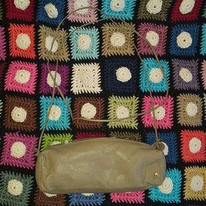 Halston Heritage Handbags - GENTLY USED HALSTON MINI BARREL BAG