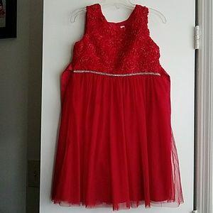 Little Girl's Red Dress