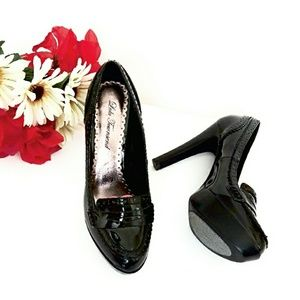 Lulu Townsend Shoes - Not Mom''s Patent Leather Penny Loafers