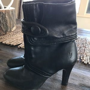 Frye Ava bottom ankle boots