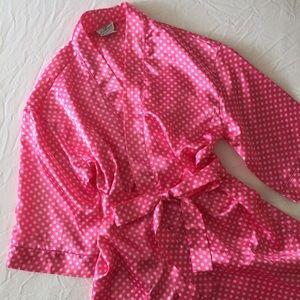 Kathryn Other - Pink Polkadot Bathrobe