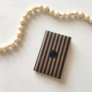 Fendi Handbags - {fendi} • authentic classic stripe mini pocketbook