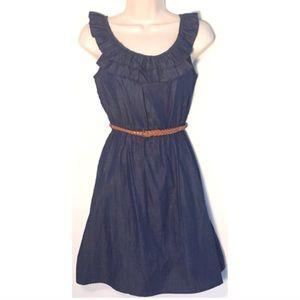 Lily Rose Dresses & Skirts - ❣BOGO 1/2 off❣🆕Light denim sleeveless mini dress