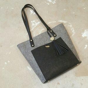 Emma Fox Handbags - Emma Fox Felt Tote Bag