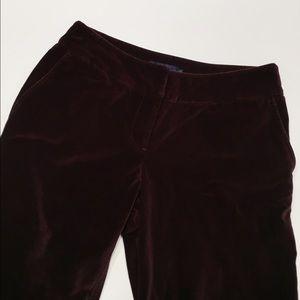 Boden Pants - Boden velvet trouser pants