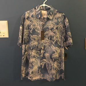 Tasso Elba Other - Men's tropical floral shirt