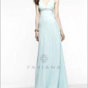 Faviana Dresses & Skirts - (PRICE DROP) Faviana evening ball gown