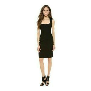 L'AGENCE Dresses & Skirts - L'AGENCE  Square Neck Sleeveless Rushed Sheath