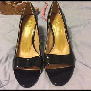 Fiore Classy Black Heels