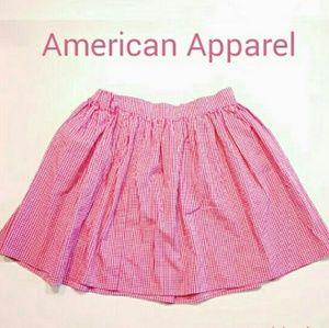 NWOT AA Light Spring Pleated Circle Skirt