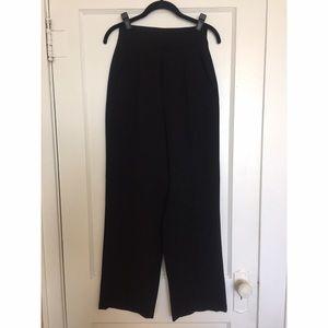 Zara High Waist Wide Leg Suit Pant