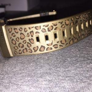 Casio Accessories - Baby G / G-Shock Leopard Print Ladies Watch