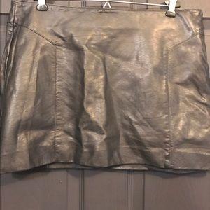 Express Dresses & Skirts - Faux Leather Mini Skirt