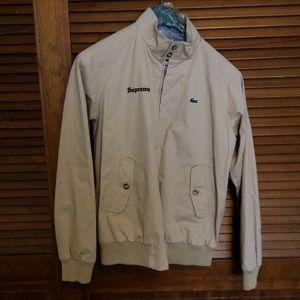 2e1b11e6d1b82 Supreme Jackets   Coats - Supreme x Lacoste Harrington jacket