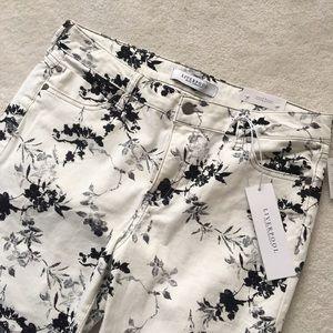 Liverpool Jeans Company Denim - Liverpool Vinny Floral Skinny Jean