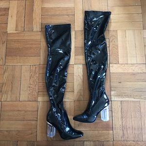 cape robbin Shoes - Thigh high boots