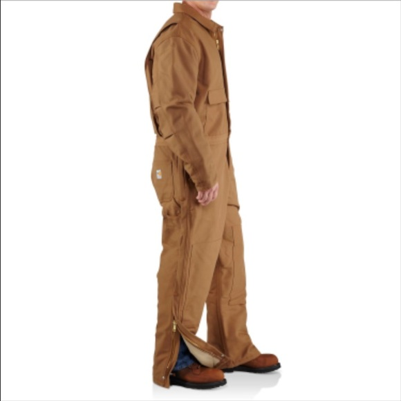 698deb6aa0fa Carhartt flame resistant insulated duck coveralls