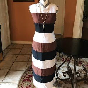 Jessica Howard Dresses & Skirts - 🆕 Jessica Howard stripes sleeveless Maxi dress