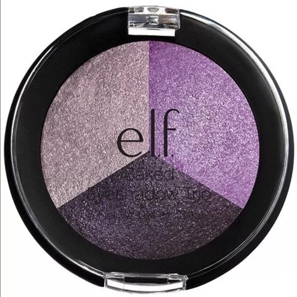 ELF Other - ELF Cosmetics baked eyeshadow trio - lavender love