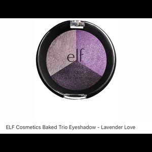ELF Makeup - ELF Cosmetics baked eyeshadow trio - lavender love