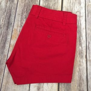 J. Crew Pants - J Crew Red Chino Shorts