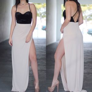 Dresses & Skirts - Nude attitude dress
