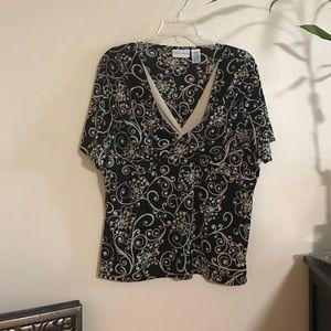 Jaclyn Smith Tops - Pretty office blouse