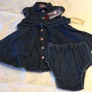 Guess Other - Guess Denim Dress 2 Piece for Baby Girl ❤️