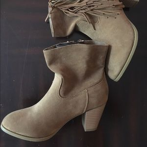 Rampage Booties. Size 7