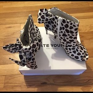 Kate Young For Target Leopard Booties