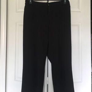 Black dress slacks with pockets in front