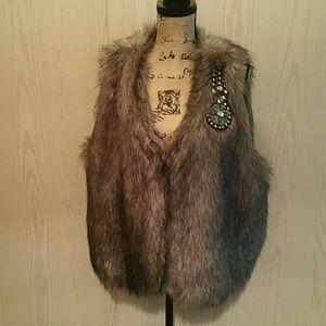 LYS Jackets & Blazers - Faux fur vest