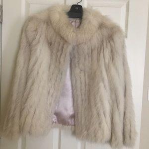 Vintage fur coat.