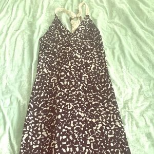 Swell Dresses & Skirts - Animal print racerback maxi with braided back