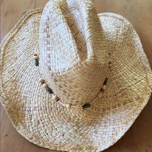 Tarnish Accessories - Tarnish Straw Cowboy Hat