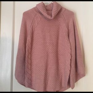 Mayoral Sweaters - Pink/blush poncho WITH TAGS