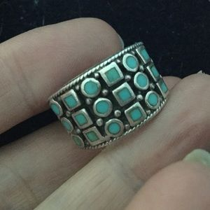 Jewelry - SOLD  Light Blue Sterling Silver Turquoise Ring