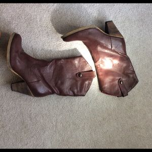 Volatile Shoes - Very Volatile Dark Red Maroon Cowboy Boot