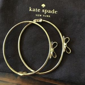 Kate Spade gold bangles