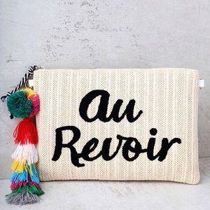 Melie Bianco Handbags - St. Tropez Clutch