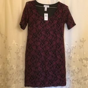 Jessica Simpson maternity lace dress