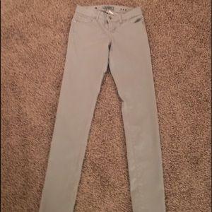 Celebrity Pink Pants - SUPER SALE! Grey low-rise Celebrity Pink Jeans