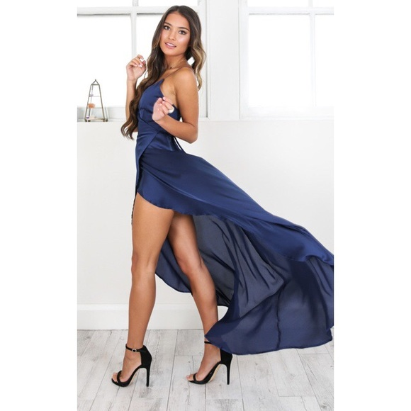 e776ad375ed Showpo Navy Blue Maxi Dress