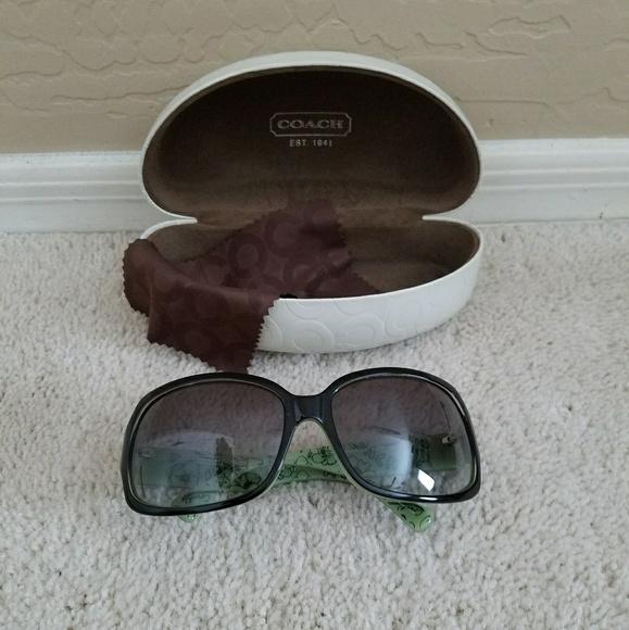 d949ca4f8039 Coach Accessories | Hc 8026m L901 Ginger Sunglasses | Poshmark