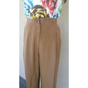 Valerie Stevens Pants - Pure Silk Trousers