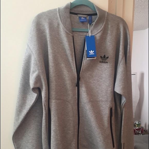 Adidas Jackets Coats Brand New With Tag Original Jacket In Grey